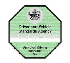 ADI Green fully qualified driving instructor green badge